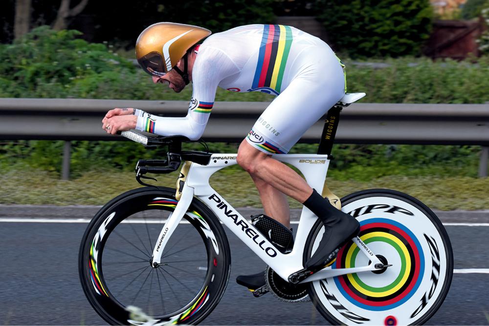 Sir Bradley Wigginss 10 mile time trial bike  Cycling Weekly