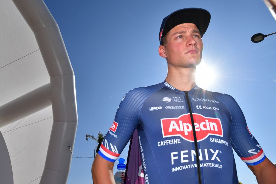 Mathieu van der Poel and his team pull out of first race due to coronavirus spike