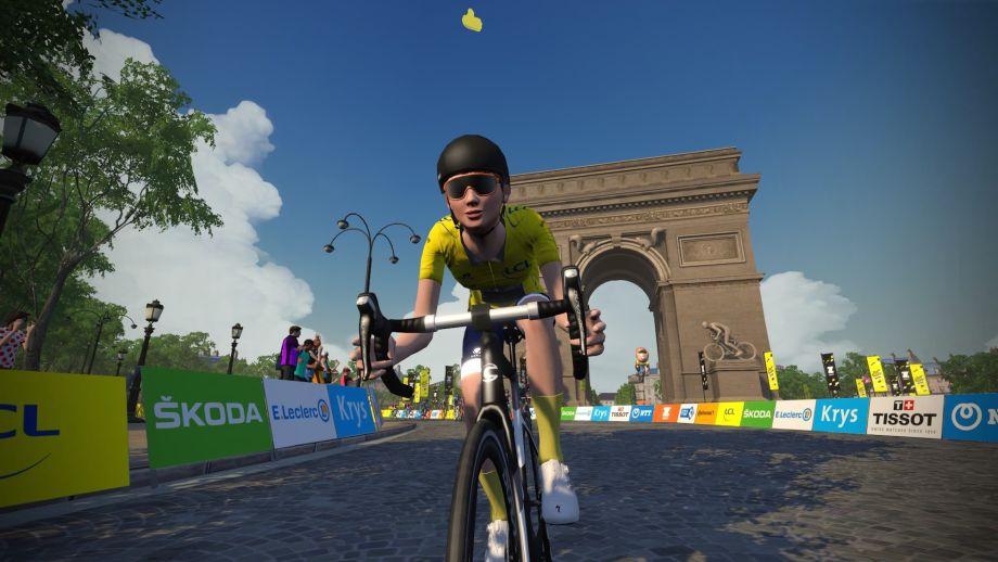 Lauren Stephens wins Champs-Élysées stage as Tibco – Silicon Valley Bank claim women's virtual Tour de France