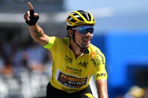 <div>Primož Roglič wins Tour de l'Ain on Grand Colombier, Egan Bernal second</div>