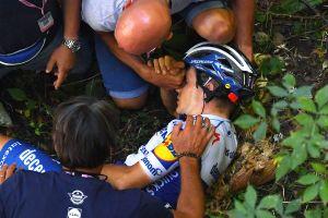 <div>UCI order investigation into item removed from Evenepoel's pocket after crash</div>