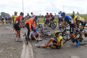 'We won't stand for it much longer': Riders voice anger again over race safety