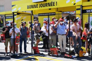 Spectators banned from starts and finishes as Tour de France re-enters coronavirus red zone
