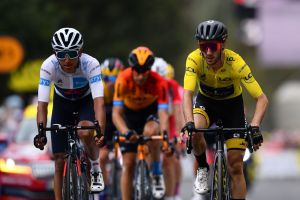 <div>'I rode my own pace': Adam Yates rides smart to protect yellow jersey after first big mountain day at Tour de France</div>