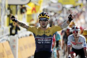 Primož Roglič proves strongest with mountain victory on stage four of Tour de France 2020