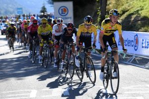 <div>Jumbo-Visma's infernal pace thwarts both Alaphilippe and Yates on Tour de France stage four</div>