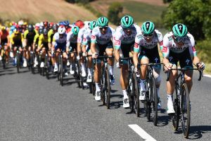 <div>Bora-Hansgrohe giving GC riders no 'easy days' as they race for green jersey at Tour de France</div>