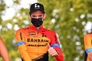 <div>Wout Poels 'getting used' to riding Tour de France with broken rib</div>