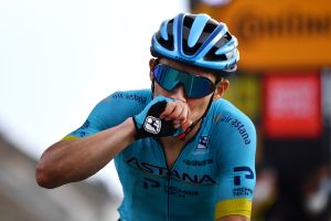 'I'm thinking about my wife and son': Miguel Angel Lopez emotional after stage victory at his first Tour de France