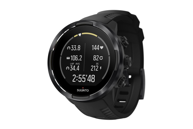Suunto 9 Baro Perspective view with cycling basics