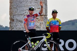 <div>EF Pro Cycling unveil new Rapha and Palace Skateboards kit for Giro d'Italia</div>