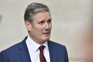 Labour leader Sir Keir Starmer involved in road collision with cyclist