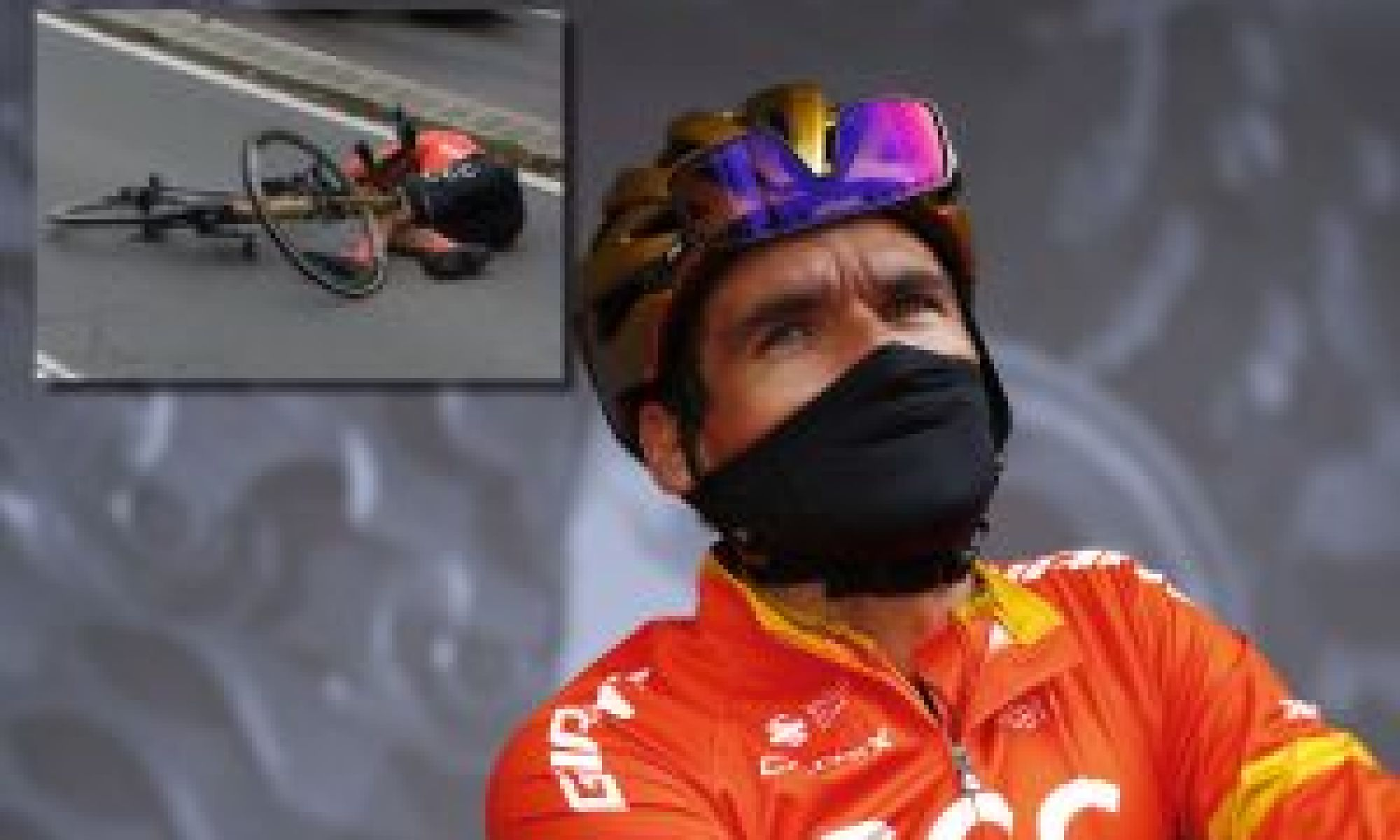 Greg Van Avermaet suffers vertebra fracture and collapsed lung in Liège-Bastogne-Liège crash