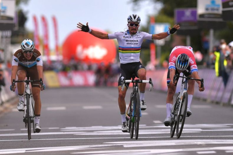 Julian Alaphilippe takes his first win as world champion at Brabantse Pijl  2020 - Cycling Weekly