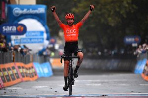 <div>Josef Černý solos away from breakaway to Giro d'Italia 2020 stage 19 victory</div>