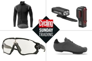 Sunday trading: Big discounts on Castelli winter kit and Lezyne bike lights