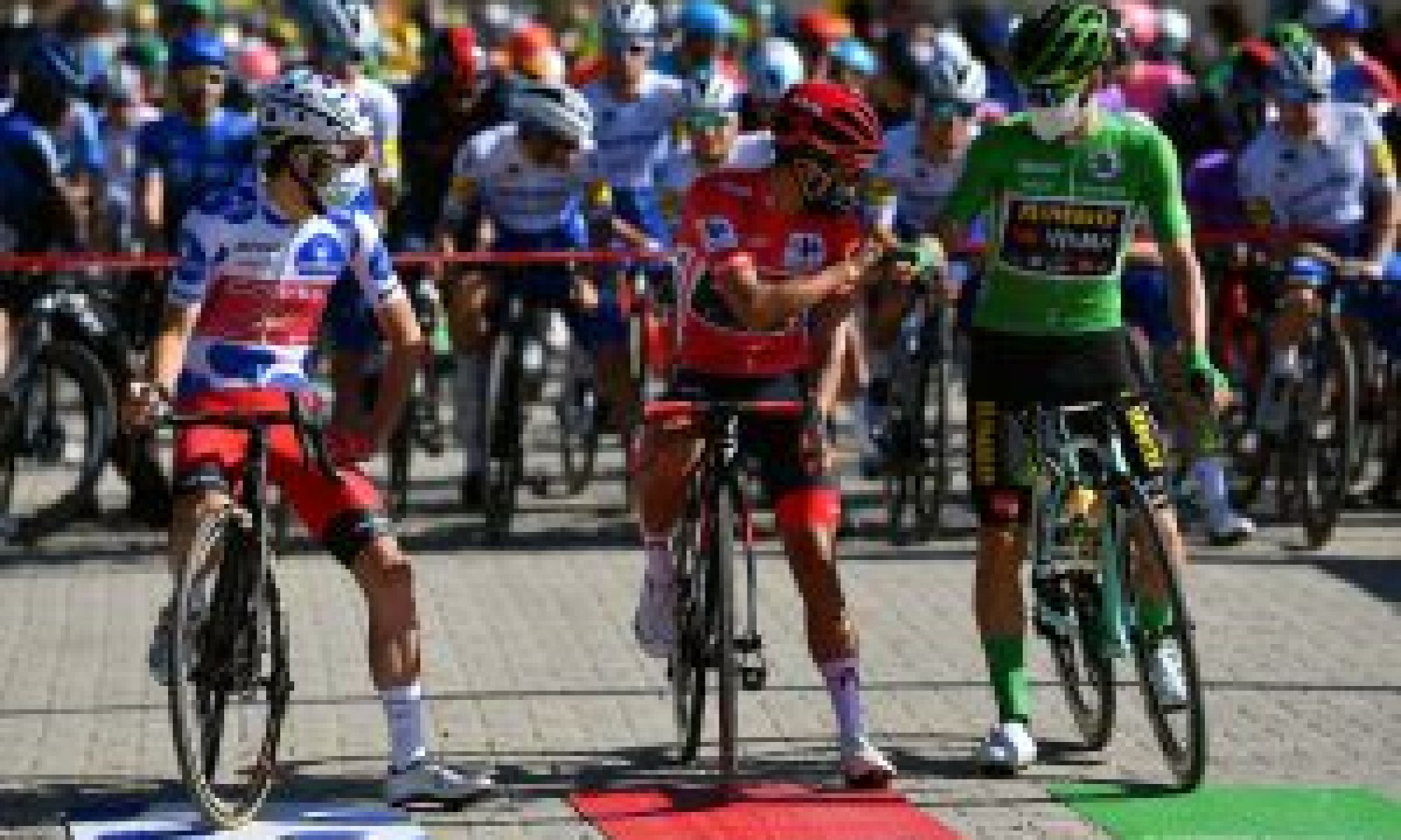 <div>'We have come together': Vuelta a España riders release statement addressing protest</div>