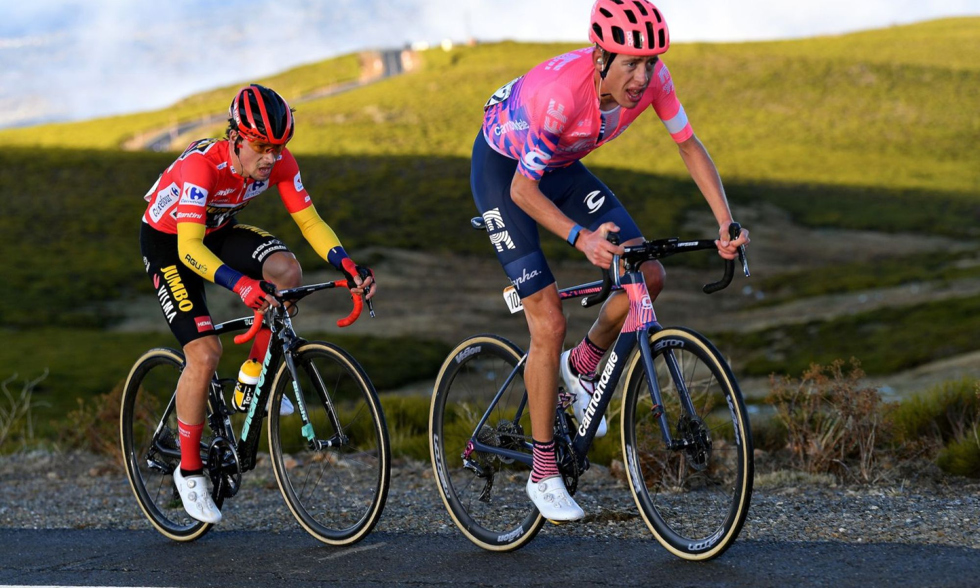 Five talking points from stage 17 of the Vuelta a España 2020