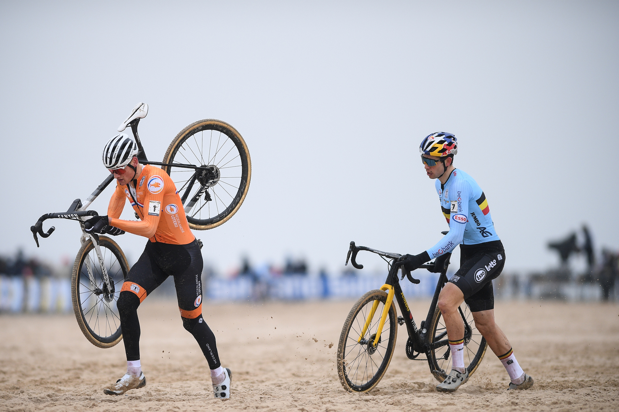 mathieu van der poel on the sadness of winning in the coronavirus era cycling weekly