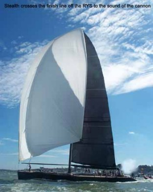 Stealth Takes Line Honours Yachting World