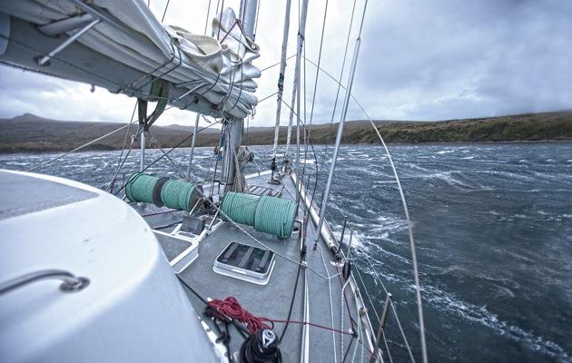 Skip Novaks Storm Sailing Techniques Part 10 Anchoring