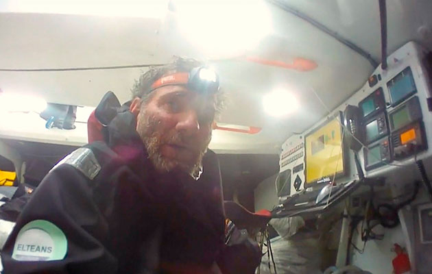 Vende Globe solo sailor rescued in Southern Ocean after