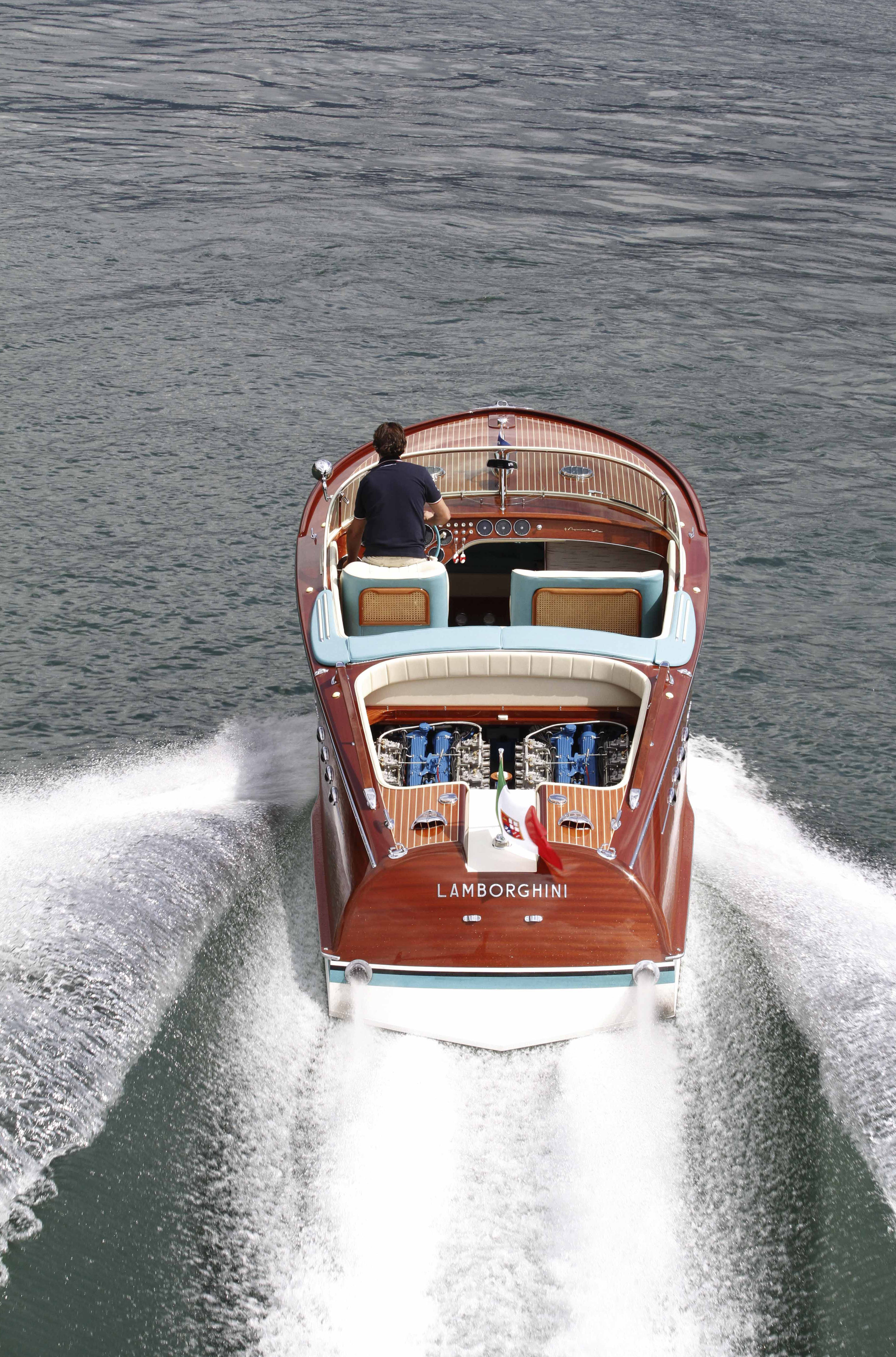 030517 Riva Aquarama Lamborghini To Go On Display In