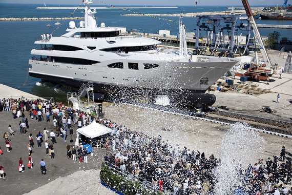 CRN Celebrates 50 Years Of Superyacht Building