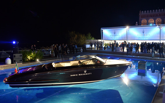 Riva stars at Venice Film Festival  Superyacht World