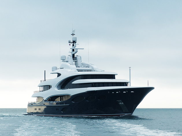 Exclusive Pictures Of 885m Oceanco Barbara On Maiden