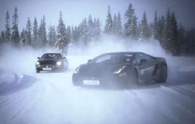 Rally Car Wallpaper Snow Video Ice Driving In Supercars The Field