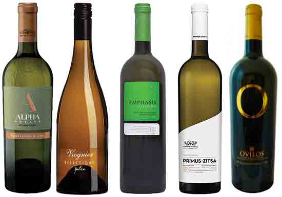 Greek white wines