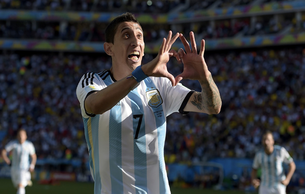 Image result for angel di maria argentina