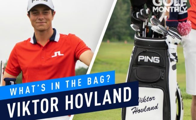 Viktor Hovland What S In The Bag Norway S Finest