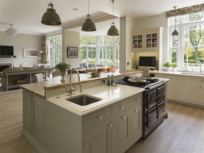 Nine Lovely Kitchen Islands Country Life