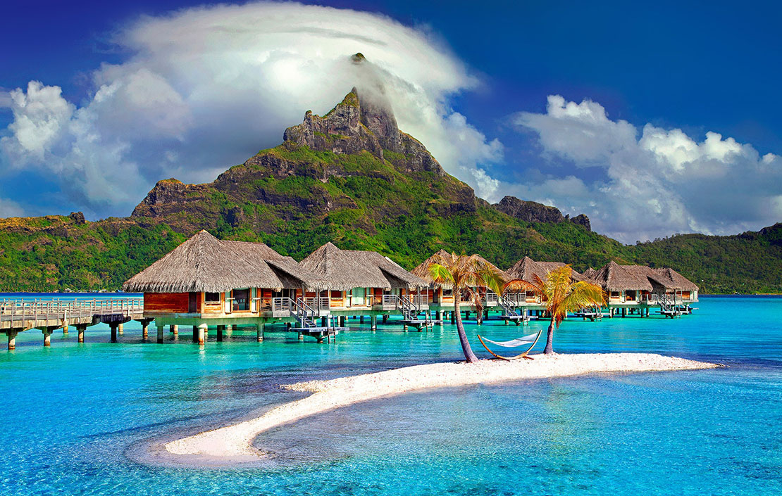 Tahiti Lush Mountains Glorious Beaches And Paddling With