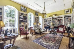 A beautiful Norfolk town house with a library by John Simpson, right opposite King's Lynn Minster 1