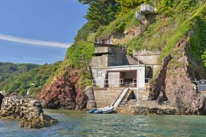 An upside-down house in Salcombe, with Italian-style formal gardens and breathtaking sea views 1