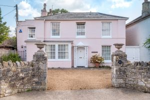 David Niven's childhood home on the Isle of Wight, Rose Cottage, is up for sale.