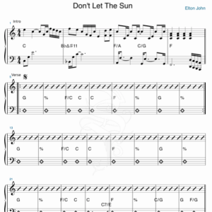 Don' t let the sun go down on me (live) – Elton John / George Michael