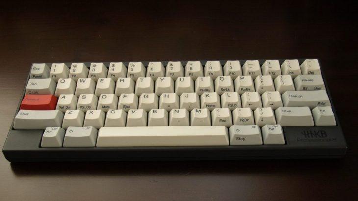 Happy Hacking Keyboard 無刻印モデルは使えるのか?