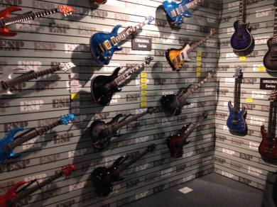 Check out these rad ESP / LTD guitars!
