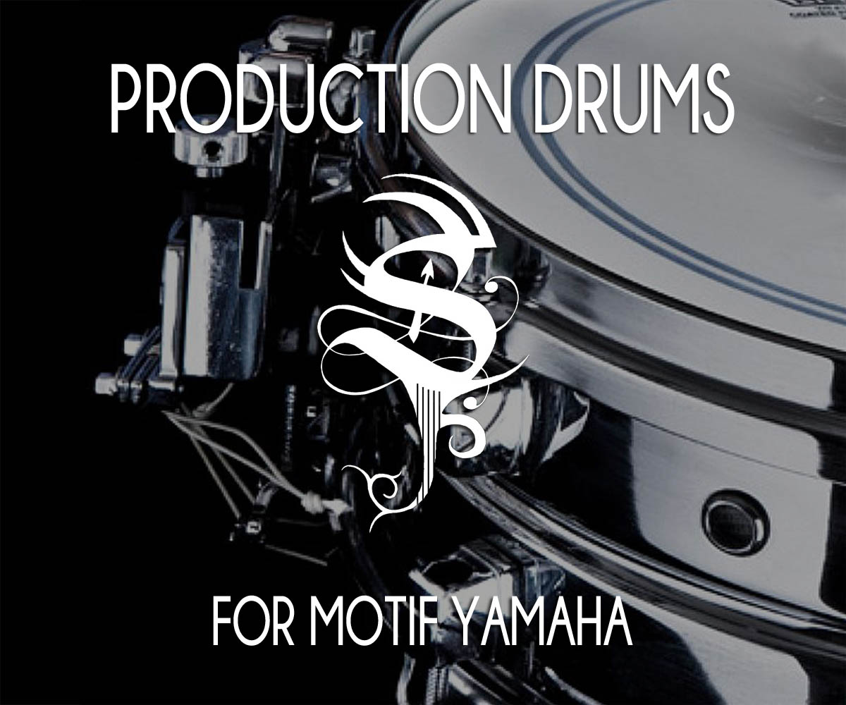 Production Drums for Motif Yamaha
