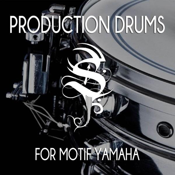 Production Drums for Motif Yamaha