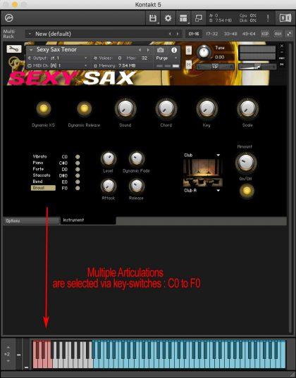 Sexy Sax For Kontakt