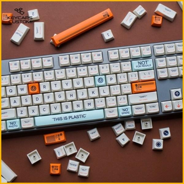 PBT Keycaps 143 Keys Plastic QX1
