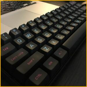 miami night black keycaps