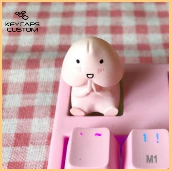 personalized-keycap-pink-cute-single-stereo-mechan5