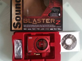 packaging sound blaster Z
