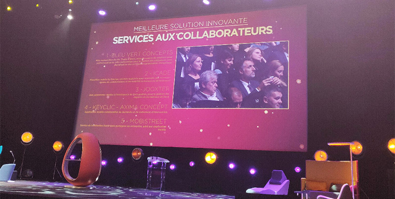 """Keyclic nominé dans la catégorie """"meilleure solution innovante - service aux collaborateurs"""""""